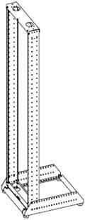 стойка 19, стойка 19 дюймов, стойка 19 цена, стойка двухрамная 19, стойка телекоммуникационная 19, открытые стойки 19, стко 19